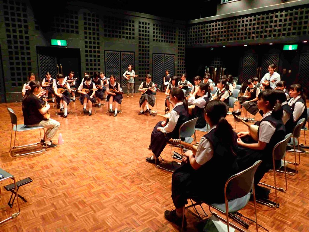 令和元年度岩手県高等学校文化連盟セミナーサポート事業<br />器楽専門部第28回技術講習会